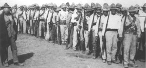 10.7 Yaqui Indians at Agua Prieta, Sonora, Mexico