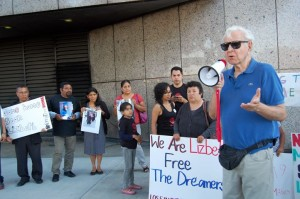 Dreamer Protest LA Fed Jail