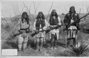 GERONIMO AND 3 WARRIORS azmemory.azlibrary.gov