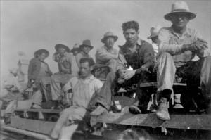 Mexican Wkers Kansas circa 1920s