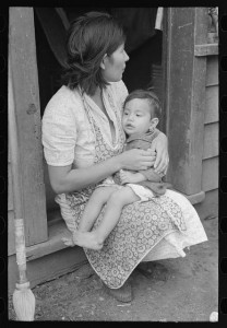 Mexican woman and child san ant 1930s