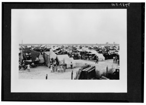 San Joaquin Cotton Strike 1933 Corcoran Camp