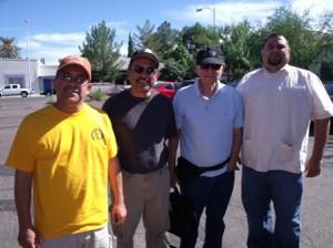 Sean, Roberto Rodriguez,Ruben, me Tucson 11 2010