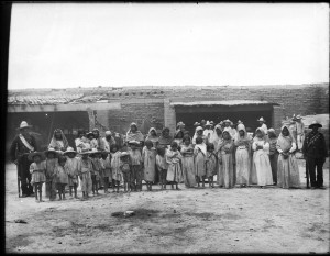 Yaqui Women and Children 1910