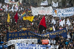 CHILE-EDUCATION-PROTEST